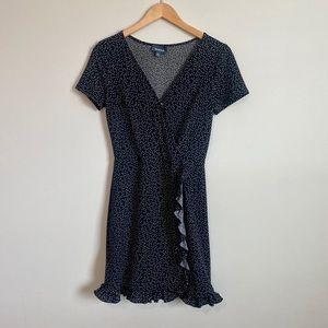 Black Modcloth Polka Dot Dress